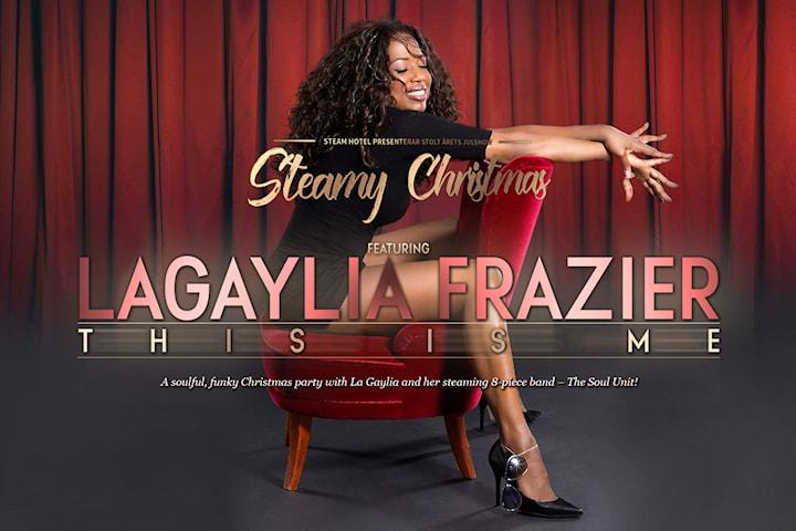 2 för 1: Julshow och julbord med LaGaylia Frazier
