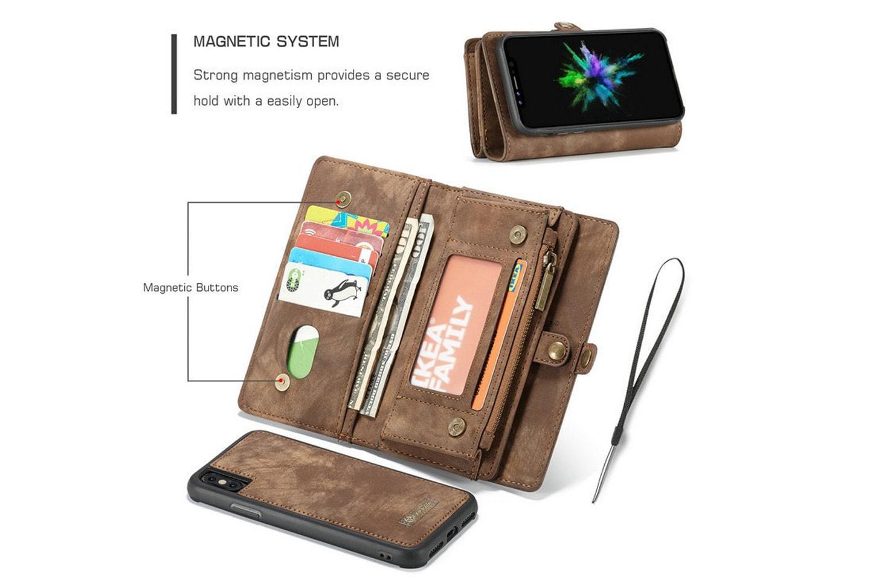 Case Me magnetisk lommebok og iPhone-deksel