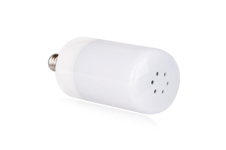 LED-lampa med eldeffekt