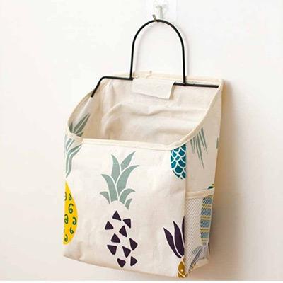 Pineapple, Hanging storage bag, Hängande väggförvaring,  (1 av 1)