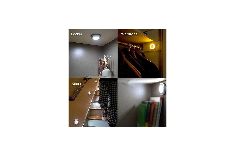 LED-lys med bevegelsessensor