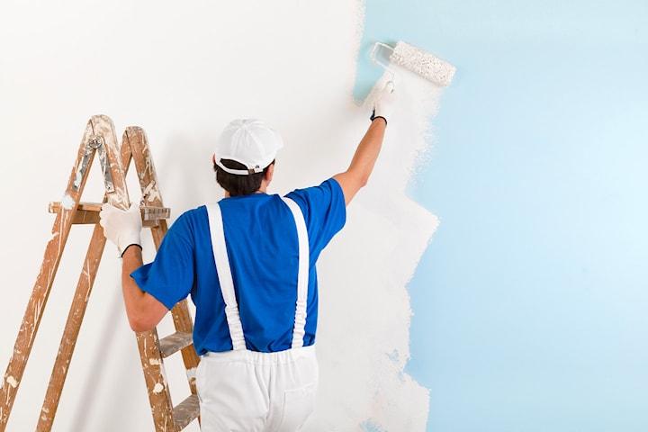 Måleri, bygg, fasadtvätt eller rivningshjälp