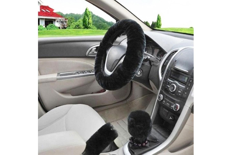 Trekk til bilratt, girstang og håndbrekk