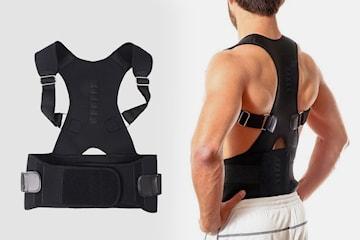 Magnetiskt rygg- och axelstöd