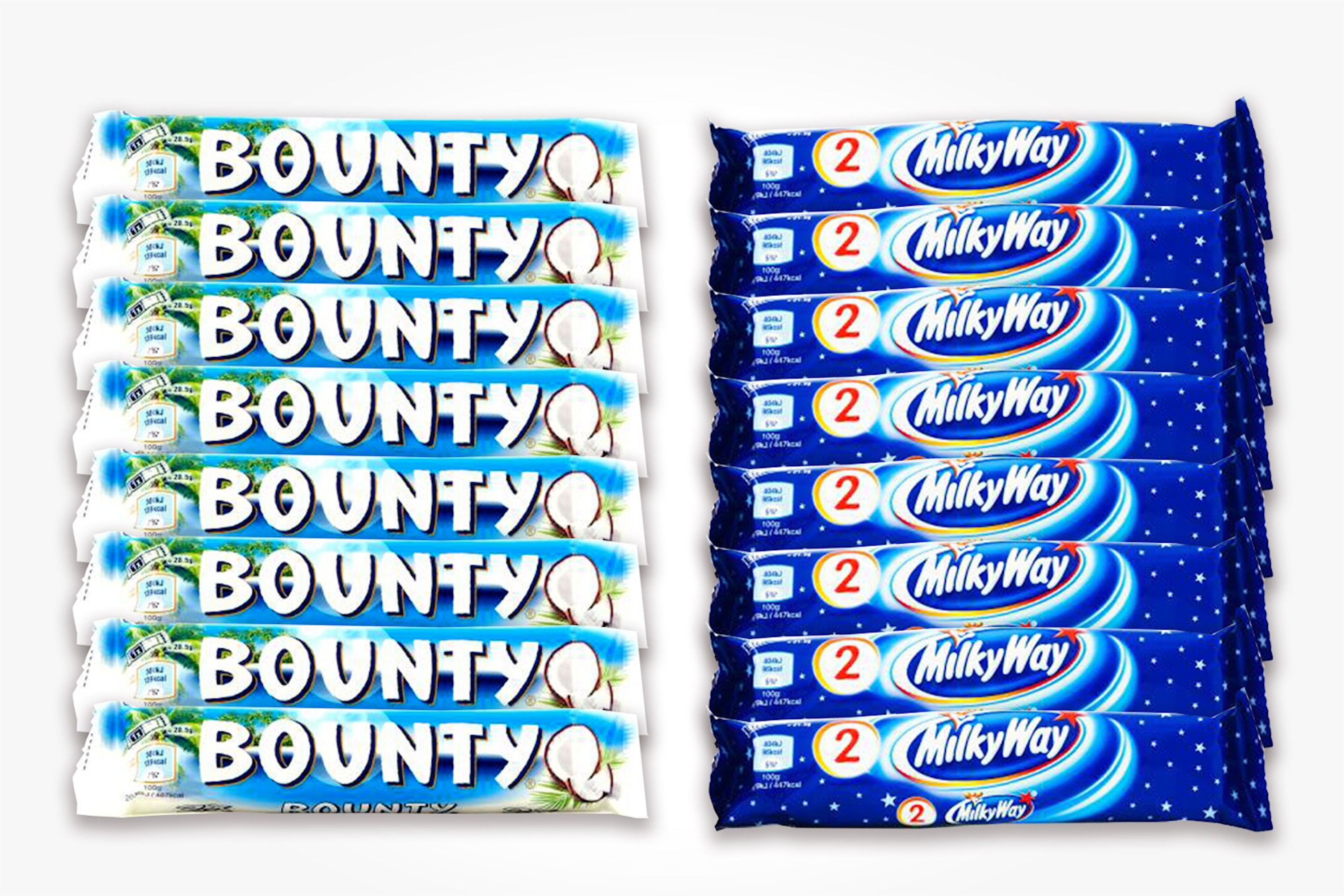 24-pack Bounty eller Milky Way