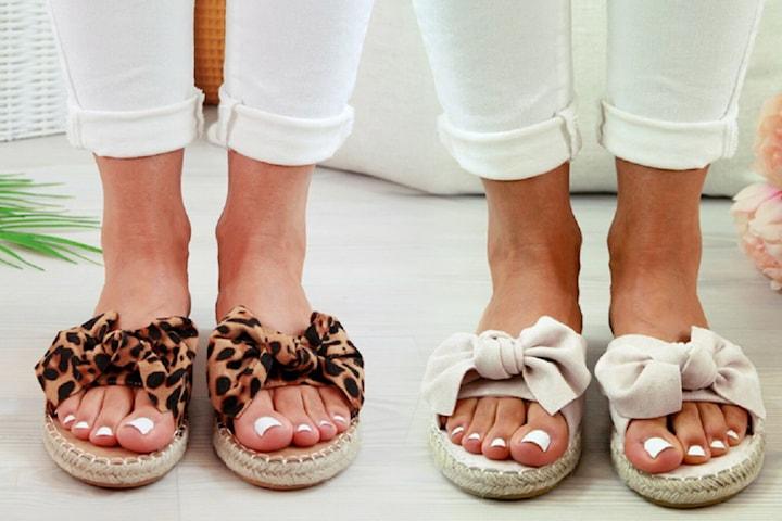 Sandaler i mockaimitation