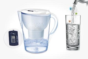 Filtrerende vannkanne på 3,5 liter