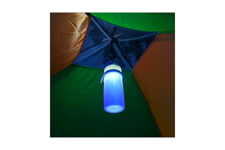 Drickflaska med LED-ljus