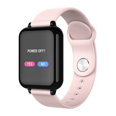 Rosa, Big Vision Smartwatch, 3 Colors, Aktivitetsarmbånd med 24 smarte funksjoner, ,  (1 av 1)