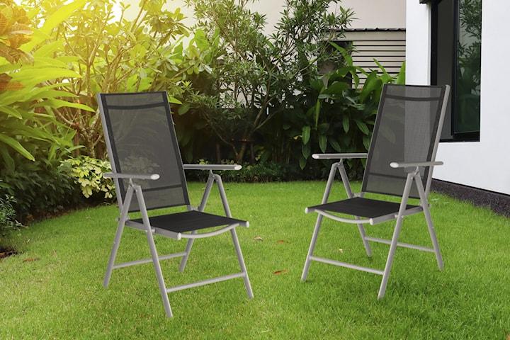 Trädgårdsstol 2-pack