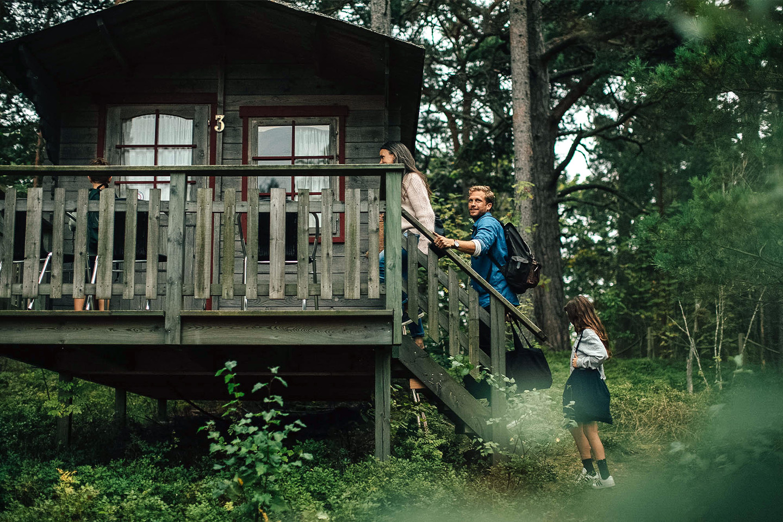 Weekend för 2 personer på Vita Grindarna, Djurö (1 av 8)