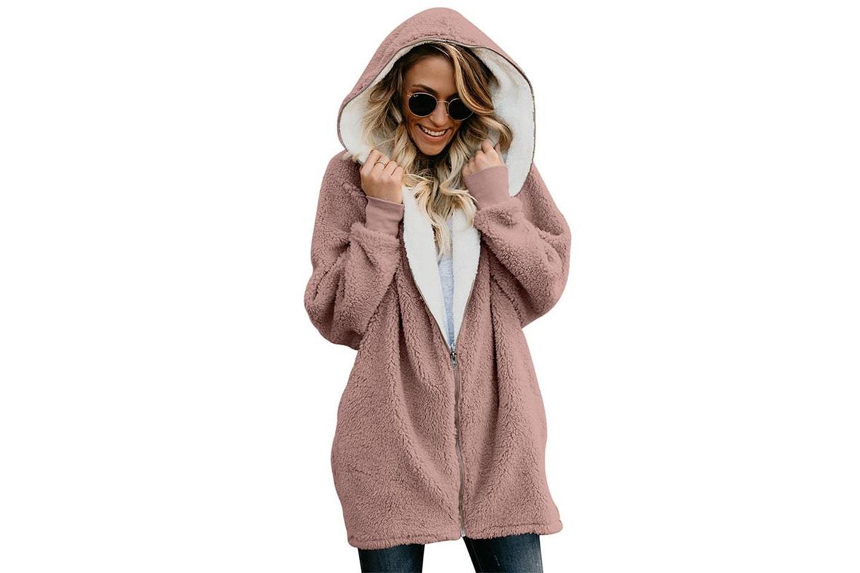 Oversize lång hoodie