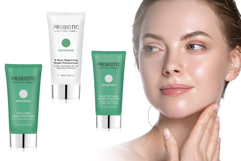 Probiotisk reparerande mask, serum och nattkräm (1 av 4)