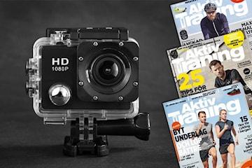 3 nr av Aktiv Träning + PROX11 Full HD Actionkamera