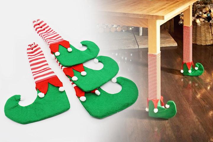 Julstrumpor till stol- och köksben 4- eller 8-pack