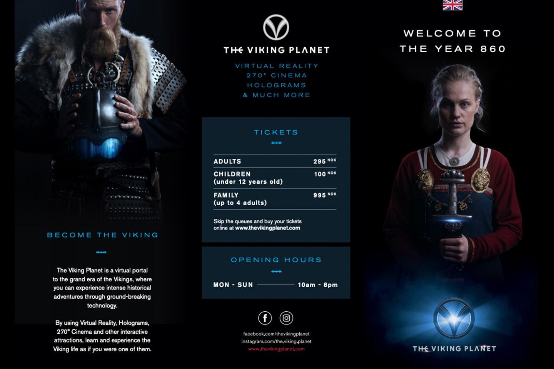 2 för 1: Entrébiljetter till The Viking Planet