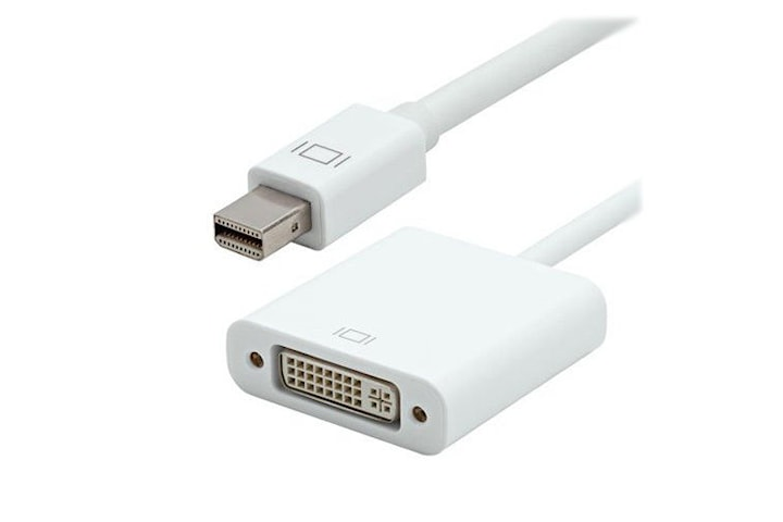 Apple Thunderbolt / Mini displayport till DVI-I Adapter