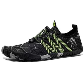 Svart, 36, Beach Shoes Sporty, Sneakers, ,