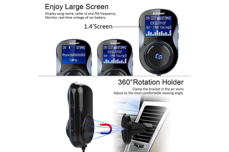 FM-sändare med Bluetooth