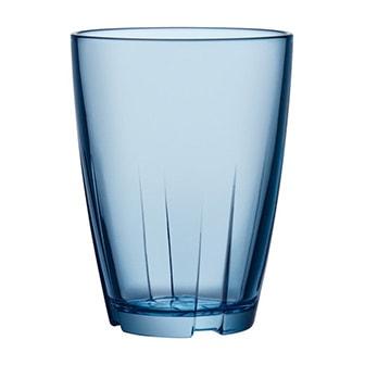 Blå, Bigger glass, 2-pack, Tumbler stor, 2-pack, ,