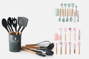 Kjøkkenredskaper 9 eller 11 deler