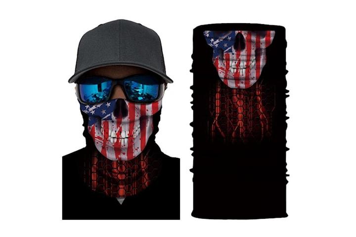 Tuff bandana / tubhalsduk med facemotiv