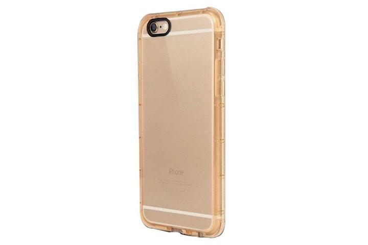 iPhone 6 / 6S trenger TPU gjennomsiktig gull