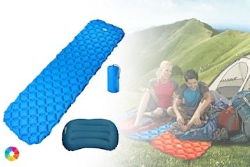 Luftmadrass för camping