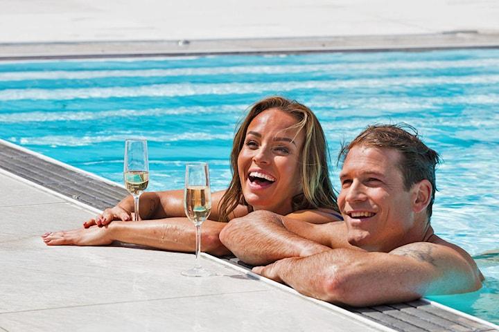 Hotell- och spa-weekend med behandling för 2