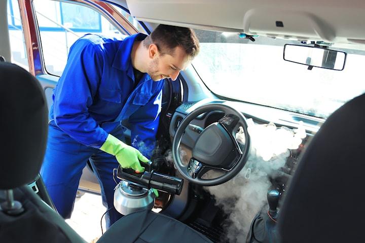 Minirekond, utvändig och invändig tvätt hos Eco Steam Clean