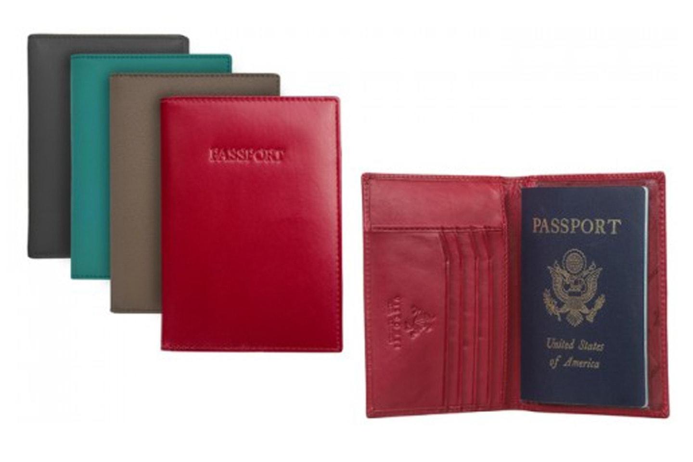 Passfodral med RFID-skydd