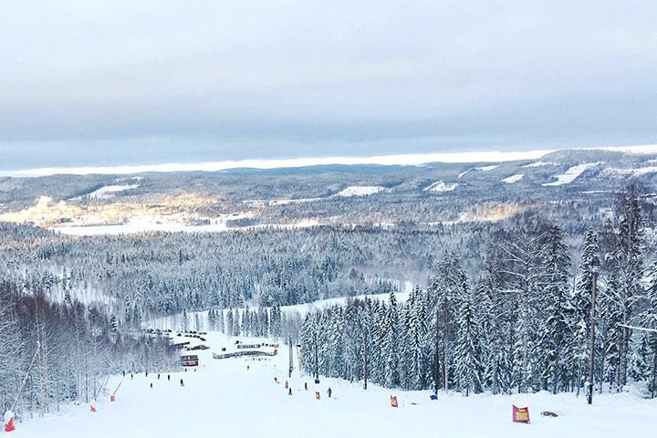 Fira jul, nyår eller trettonhelgen på Hassela Ski Resort