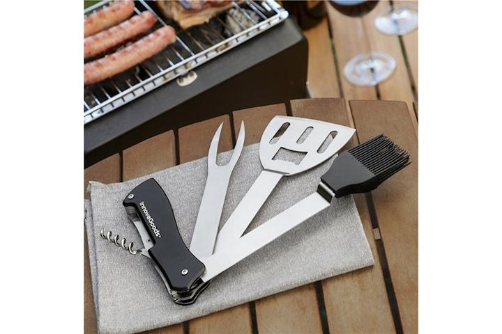 InnovaGoods BBKit 5 i 1 BBQ Multi-Tool