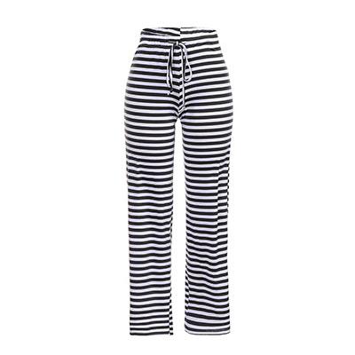 Svart, M, Cozy pants striped, Stripete kosebukser,  (1 av 1)