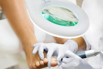 Medicinsk fotvård hos Venus Medicinsk Fotklinik