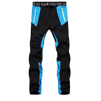 Blå/Svart, XL, Outdoor Pants for Women, Utendørsbukse for dame, ,