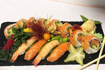 Få 40% rabatt hos Sushi Me på Vinterbro