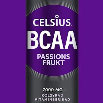 Passionsfrukt, 24-pack Celsius BCAA Fitness drinks 3 flavors, 24-pack Celsius BCAA – 100% vegansk, ,