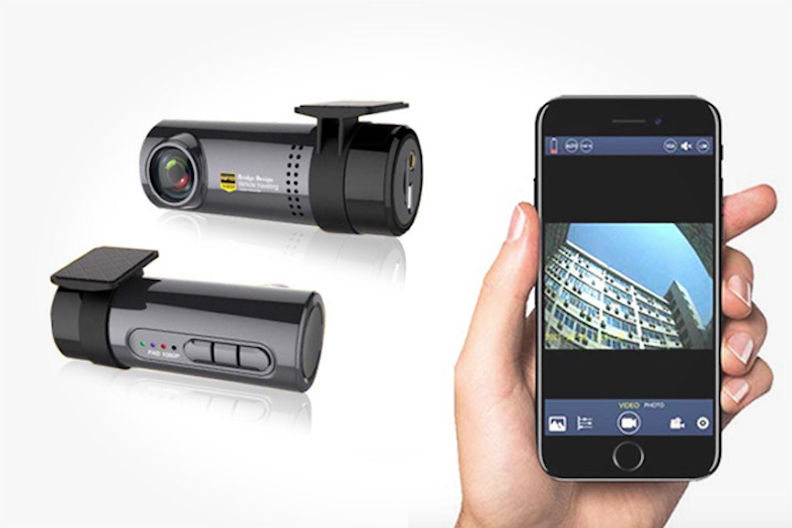 Bilkamera med Wi-Fi och full HD