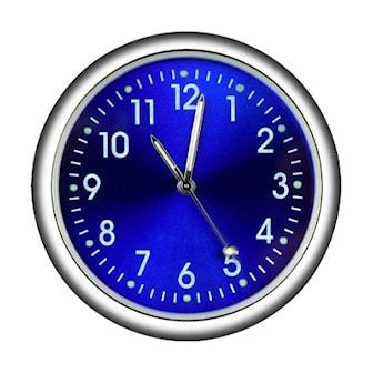 Blå, Car Clock, Bilklocka, ,