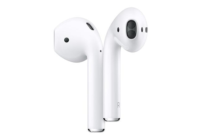 Apple AirPods med laddningsfodral Vit