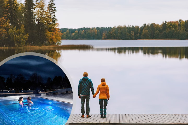 Vandring & Spa för 2 på vackra Frösö Park Hotel