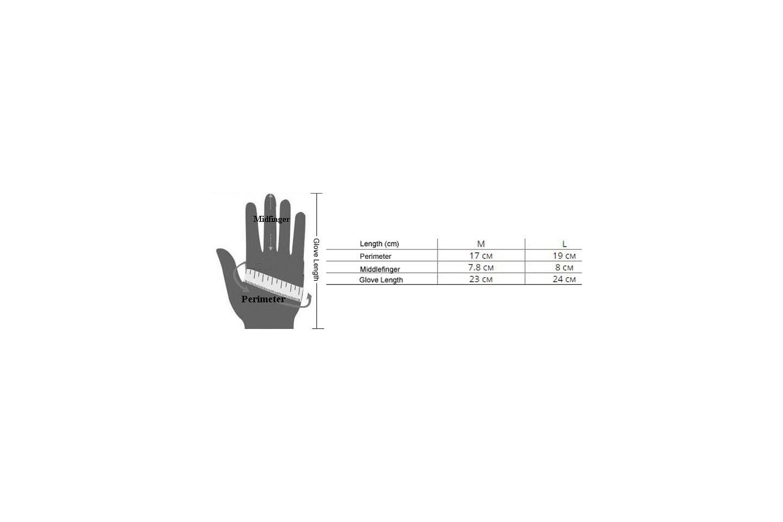 Touch hansker i kunstig skinn