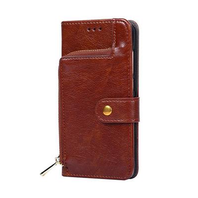 Brun, Iphone XS Max, Iphone Case Wallet, iPhonedeksel med lommebok,  (1 av 1)
