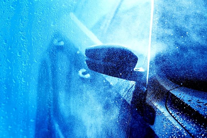 Innvendig og utvendig vask hos Bilspa1 på Alnabru