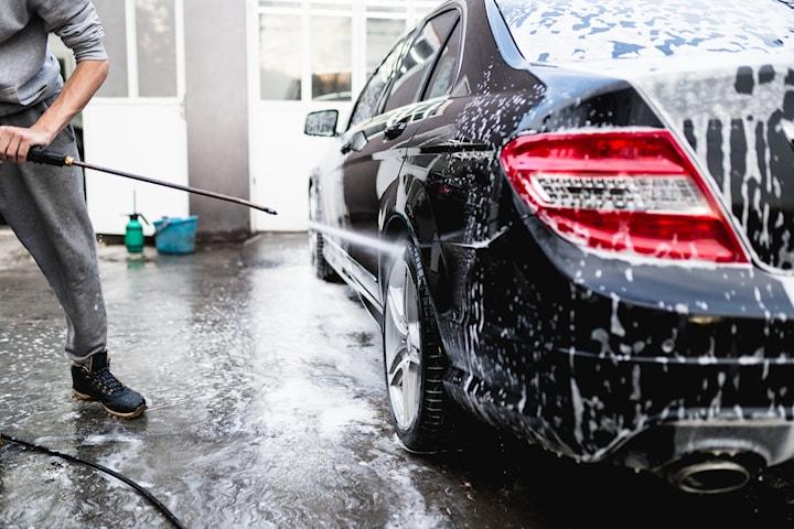 Biltvätt eller superrekond