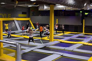Inngangsbillett i én time hos Freedome trampolinepark i Stavanger