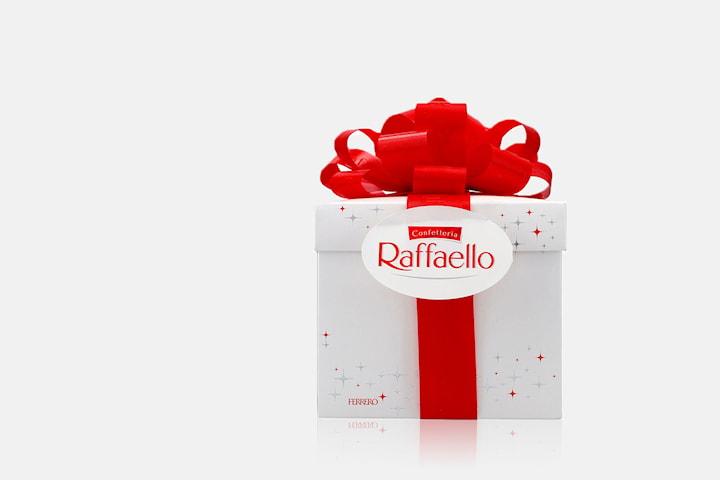 Ferrero Raffaello presentförpackning 300 g hos Bigsavr