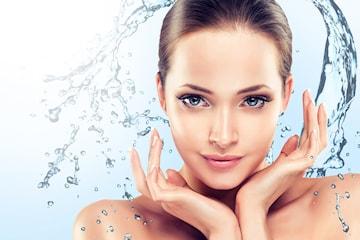 Ansiktsbehandling inkl. ansiktsmassage hos DermaDent kliniken