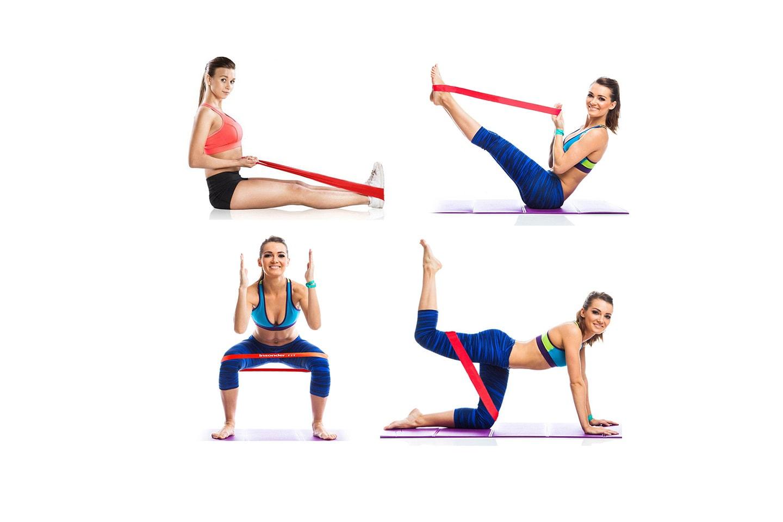 4-pack treningsstrikker
